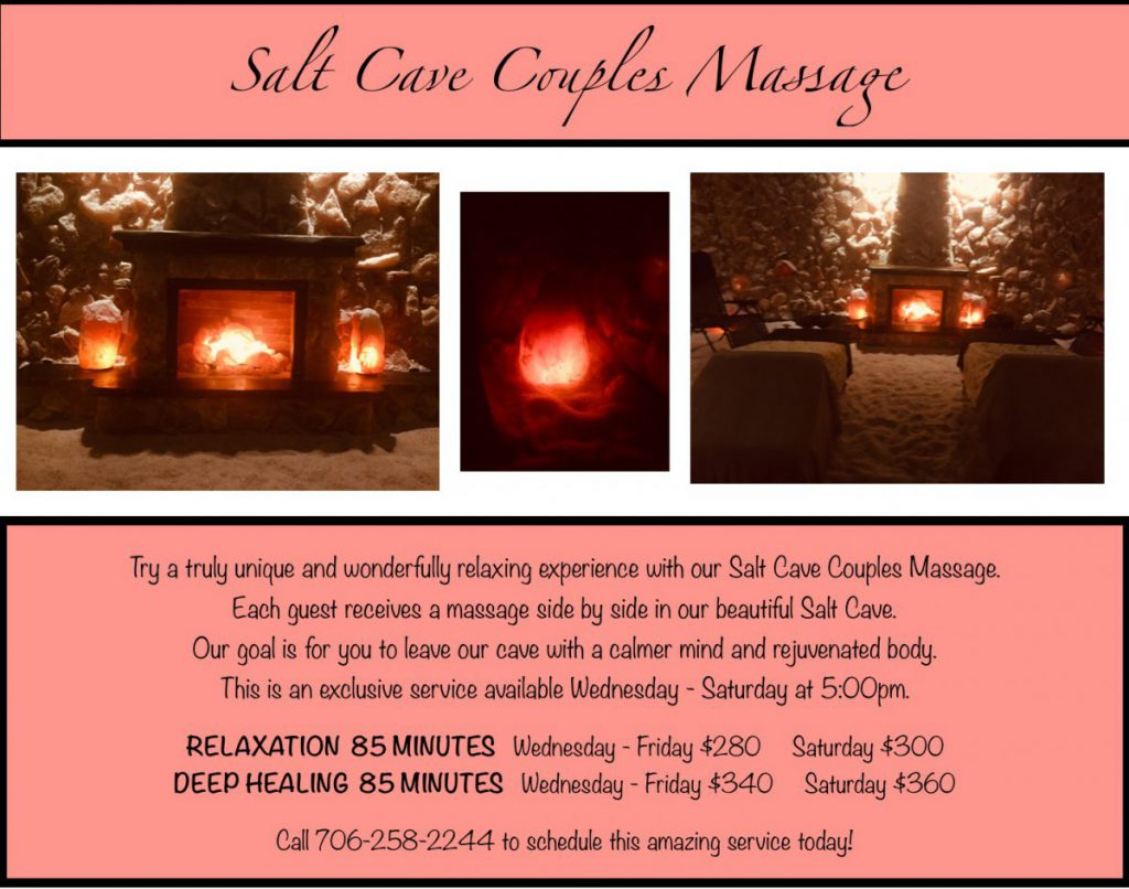 Salt Cave Couples Massage