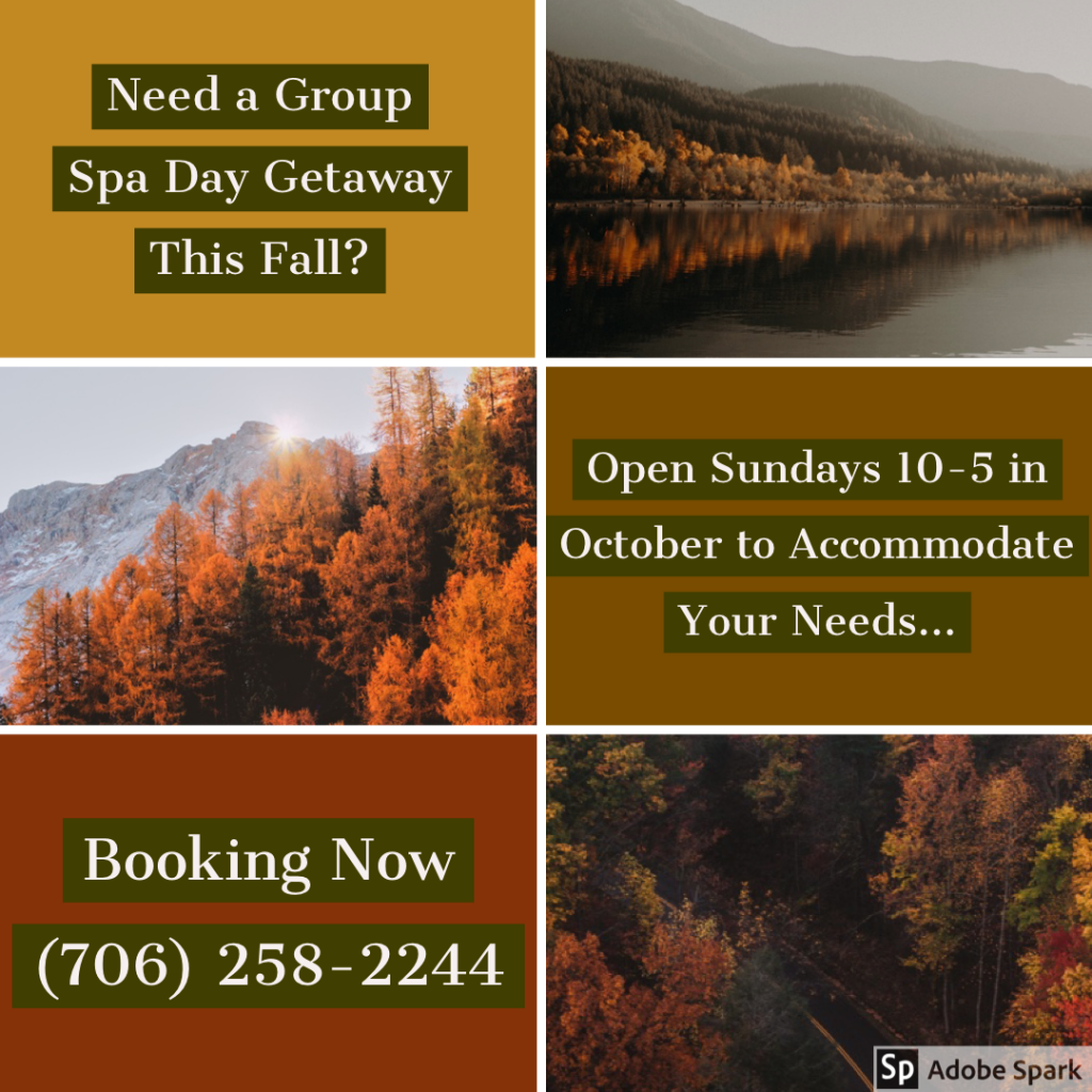 Need A Group Spa Day This Fall?